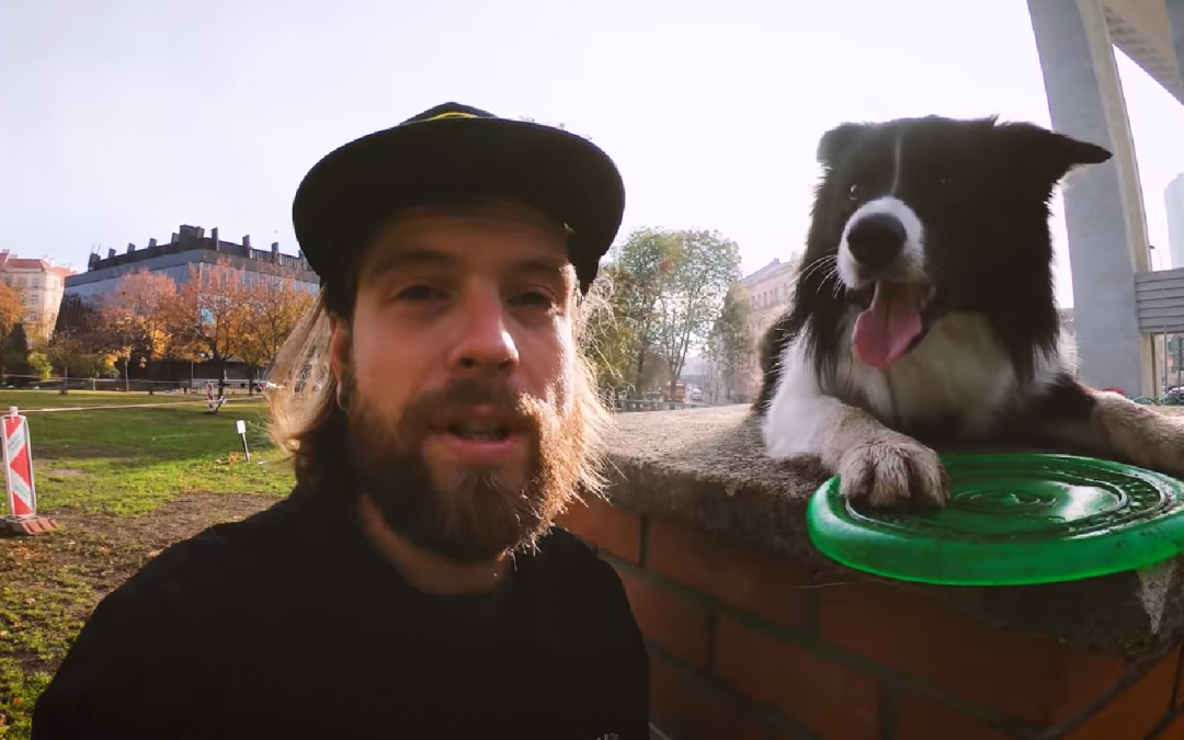 Party Time with Radek and his Border Collie in Prague